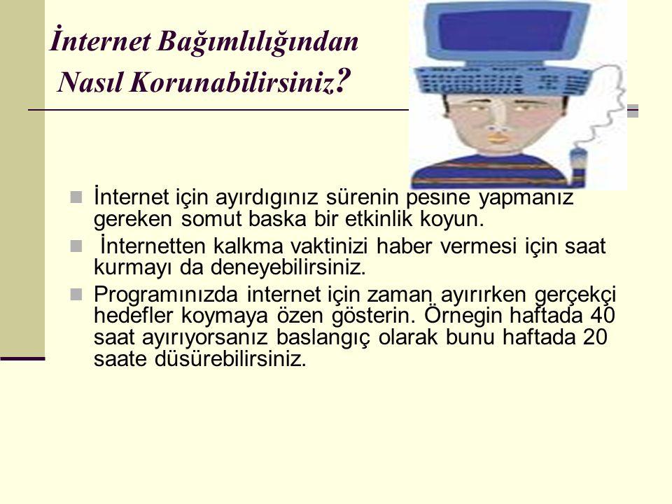 İnternet Bağımlılığından Nasıl Korunabilirsiniz
