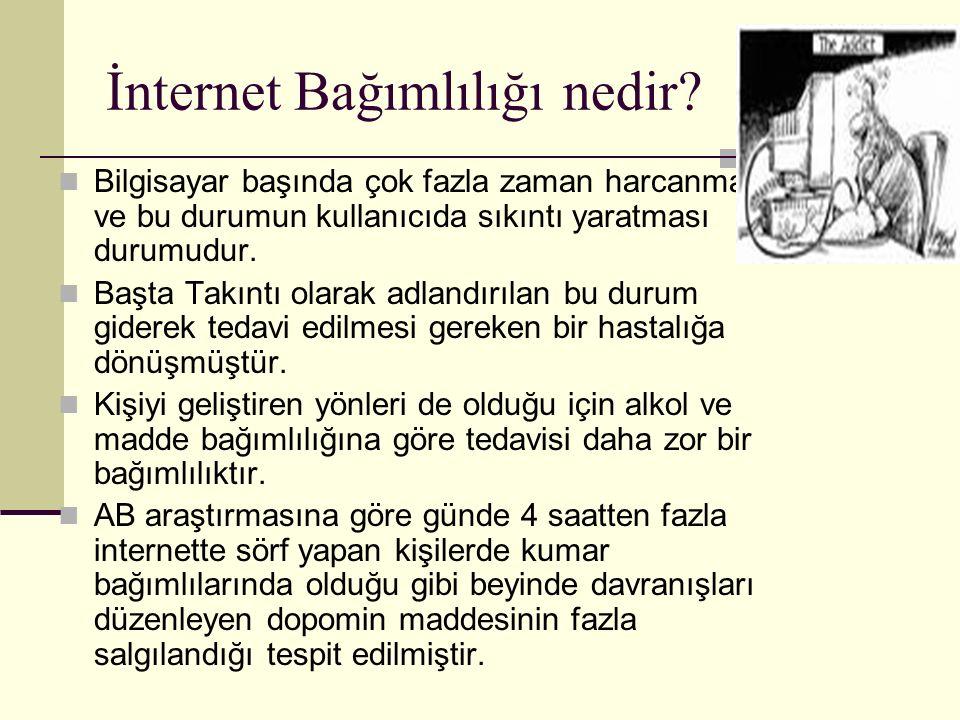 İnternet Bağımlılığı nedir