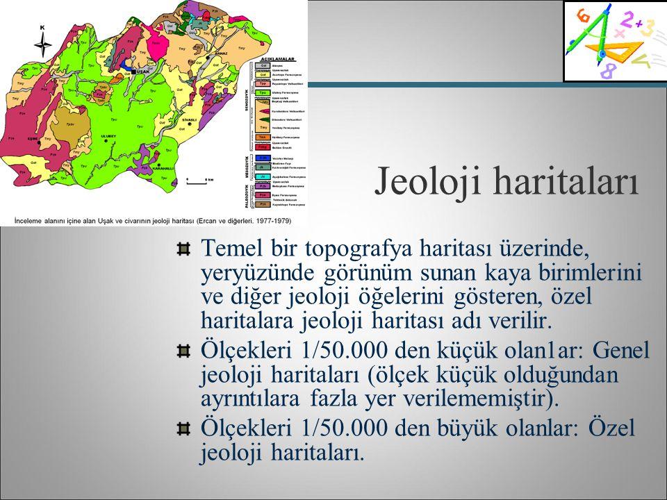 Jeoloji haritaları