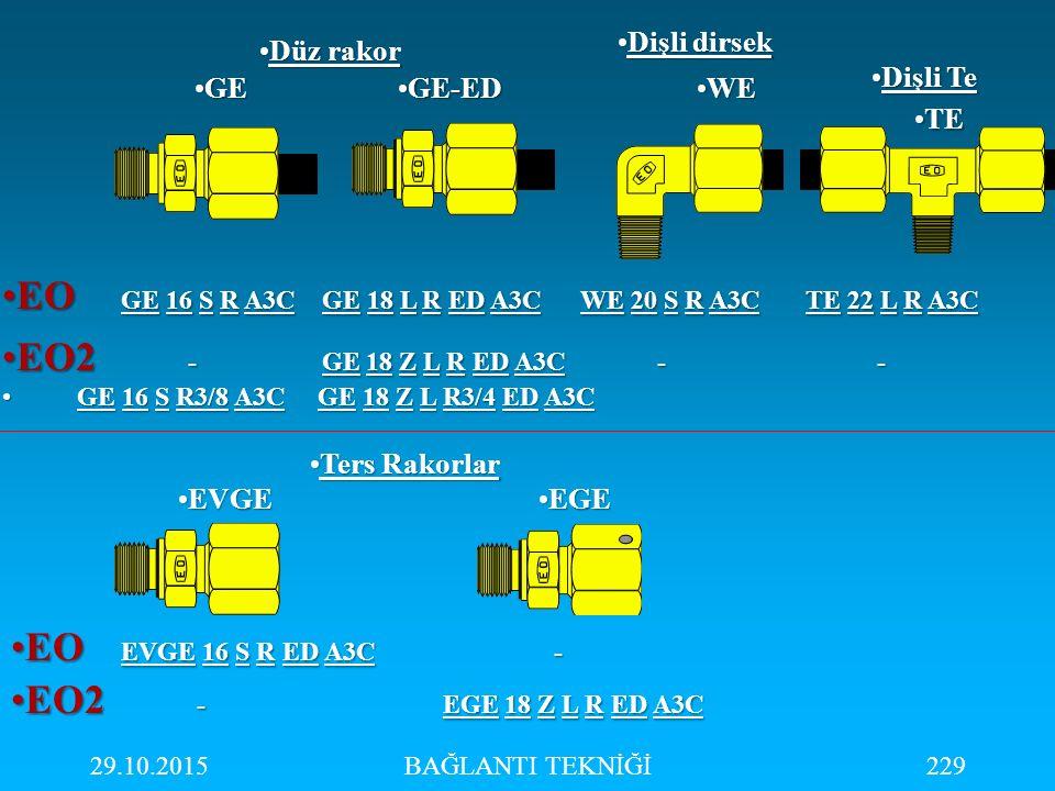 EO GE 16 S R A3C GE 18 L R ED A3C WE 20 S R A3C TE 22 L R A3C