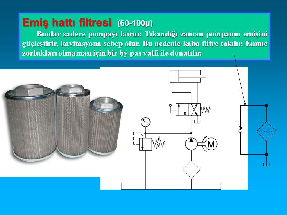Emiş hattı filtresi (60-100µ)