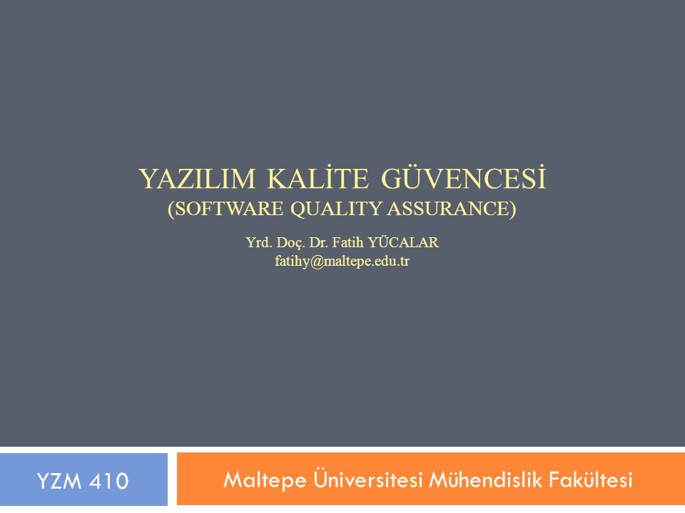 Maltepe Üniversitesi Mühendislik Fakültesi