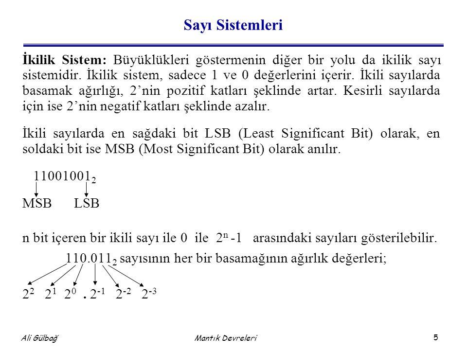 Sayı Sistemleri