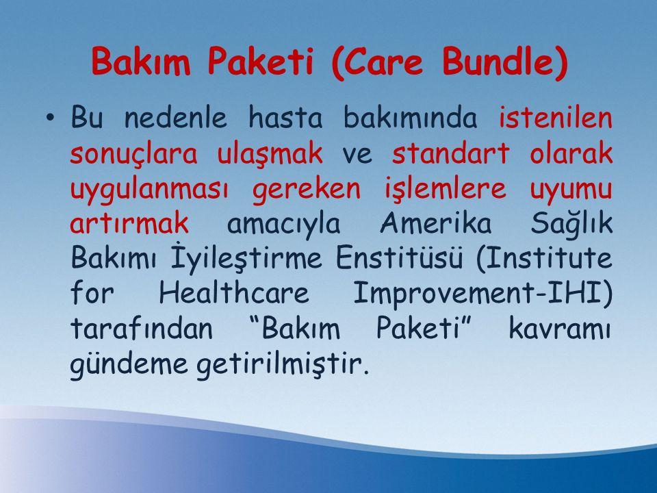 Bakım Paketi (Care Bundle)