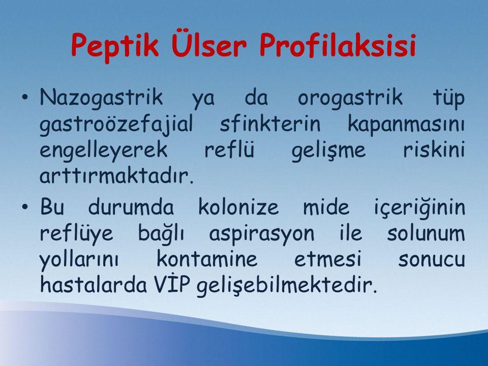 Peptik Ülser Profilaksisi