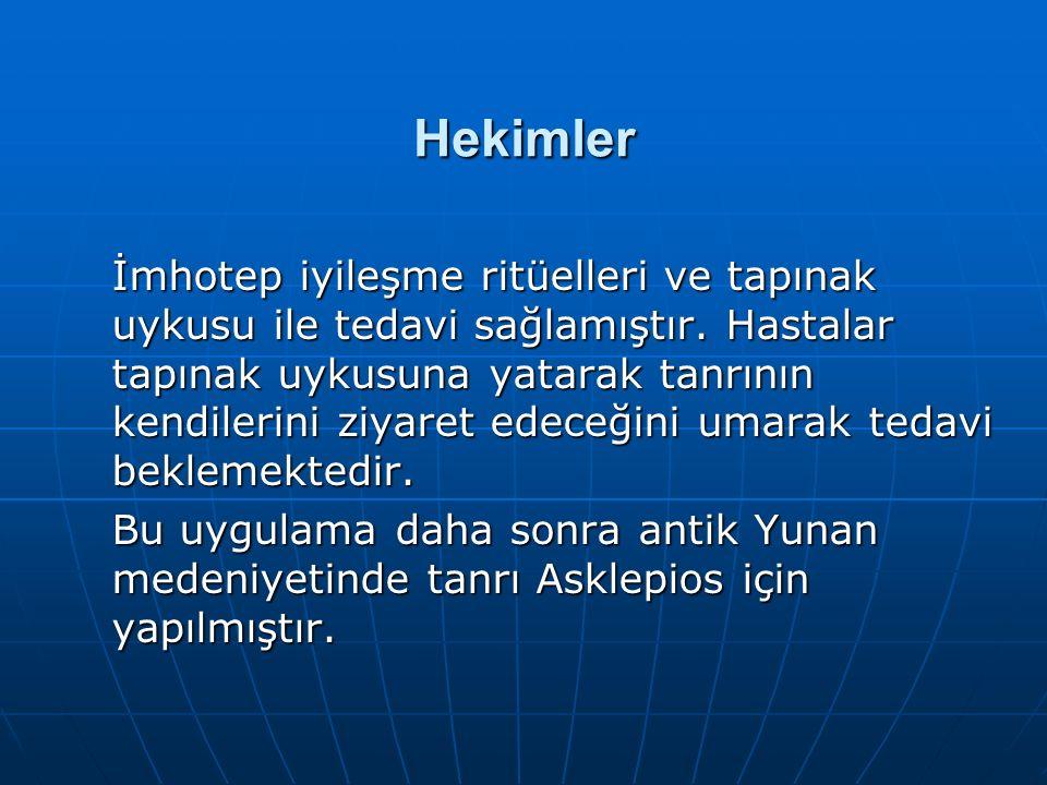 Hekimler