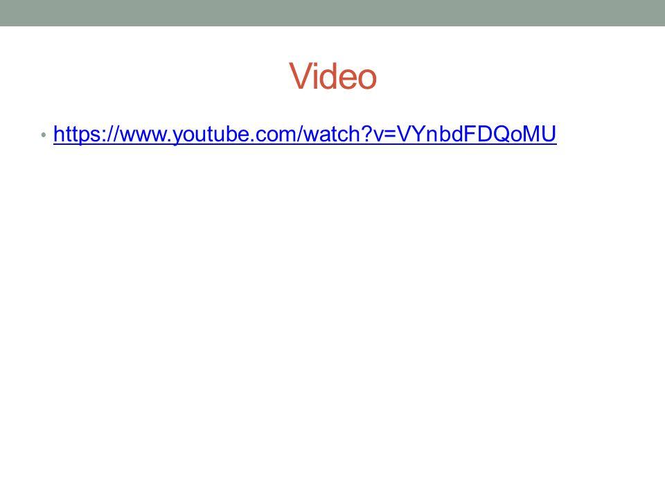 Video https://www.youtube.com/watch v=VYnbdFDQoMU