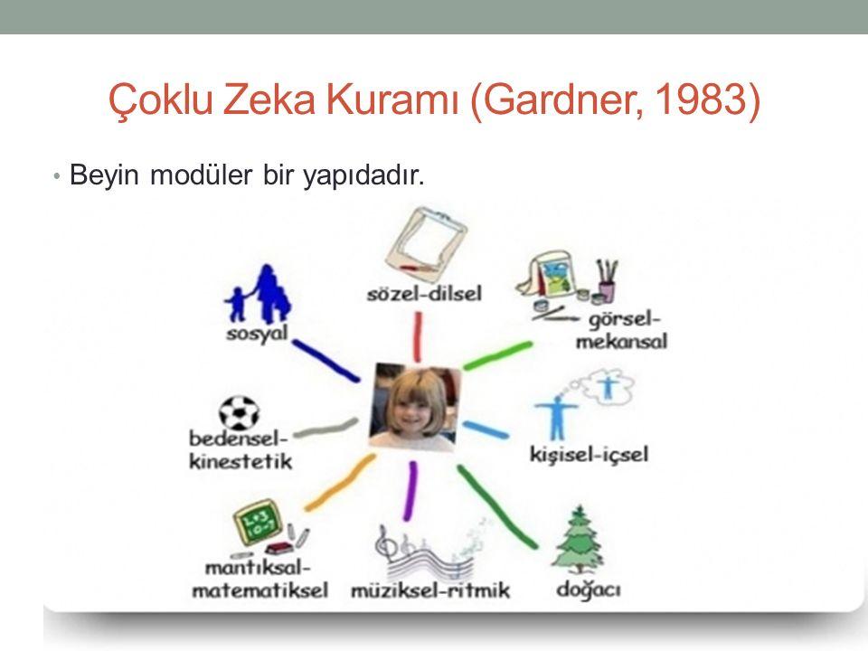 Çoklu Zeka Kuramı (Gardner, 1983)