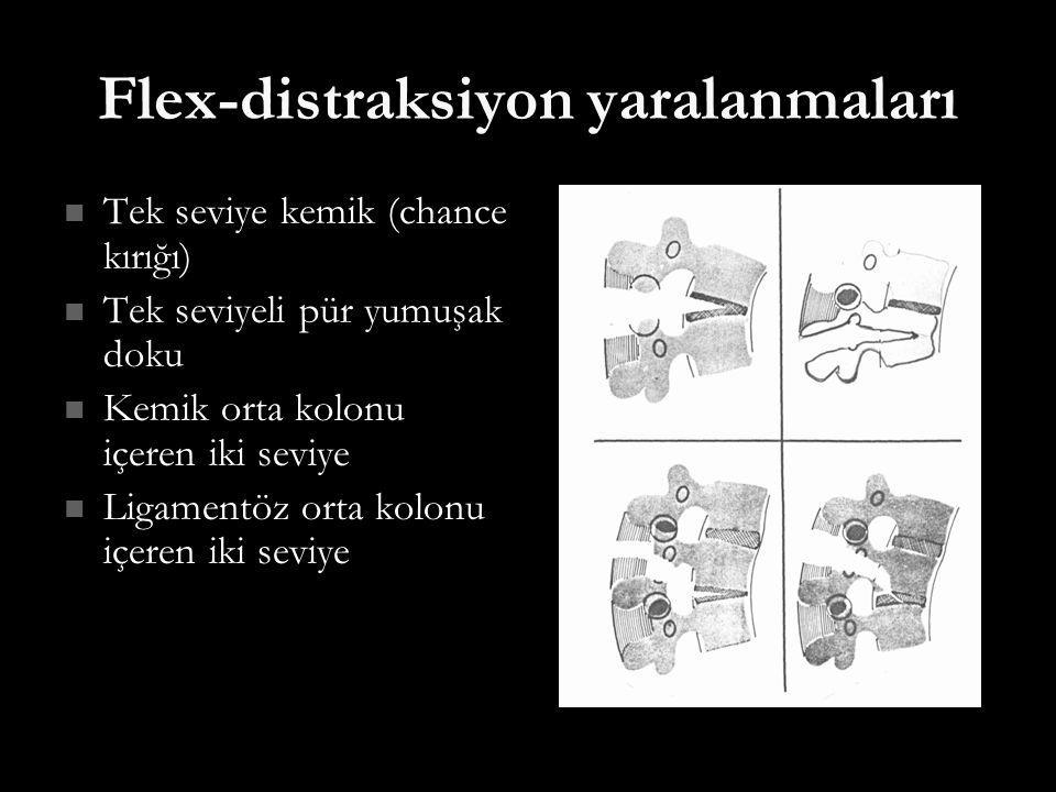 Flex-distraksiyon yaralanmaları