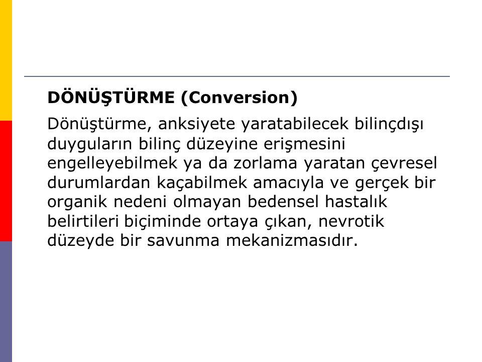 DÖNÜŞTÜRME (Conversion)