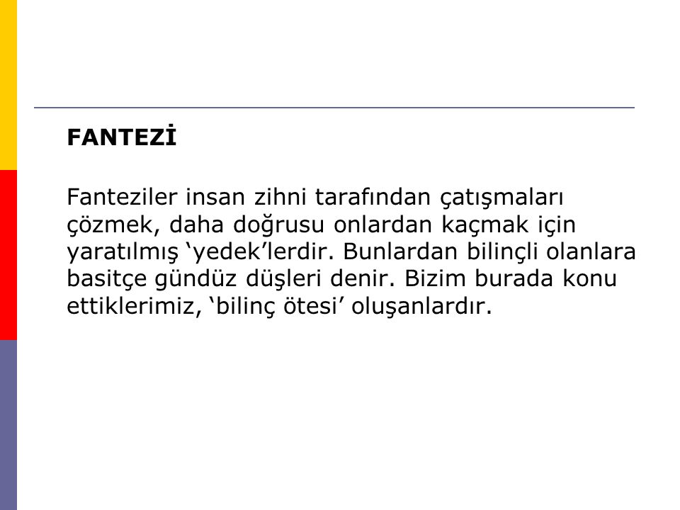 FANTEZİ