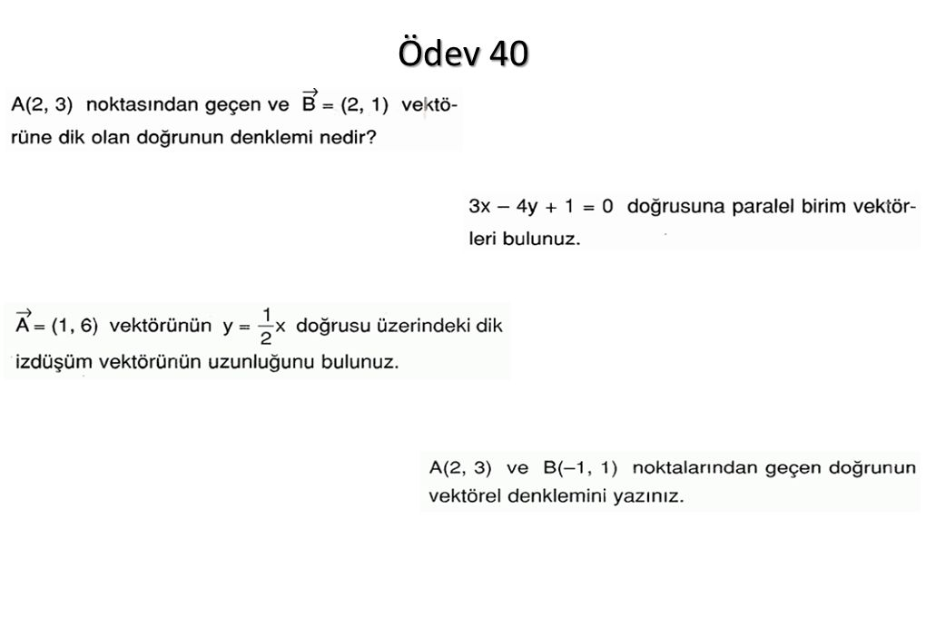 Ödev 40