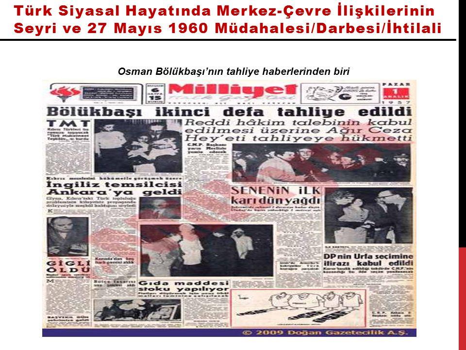 Osman Bölükbaşı'nın tahliye haberlerinden biri