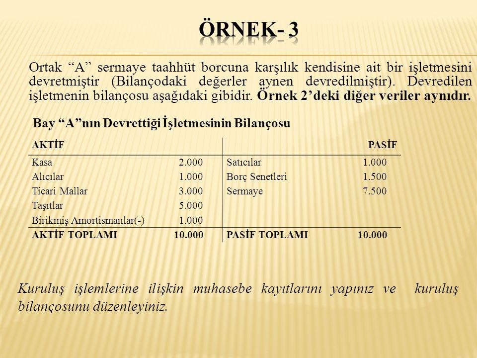 ÖRNEK- 3