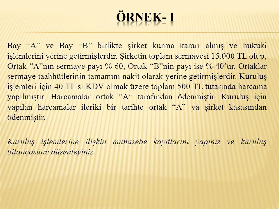 ÖRNEK- 1
