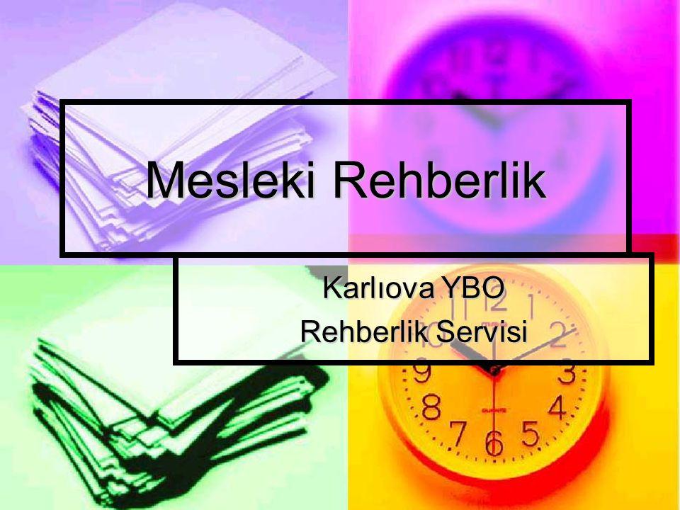 Karlıova YBO Rehberlik Servisi