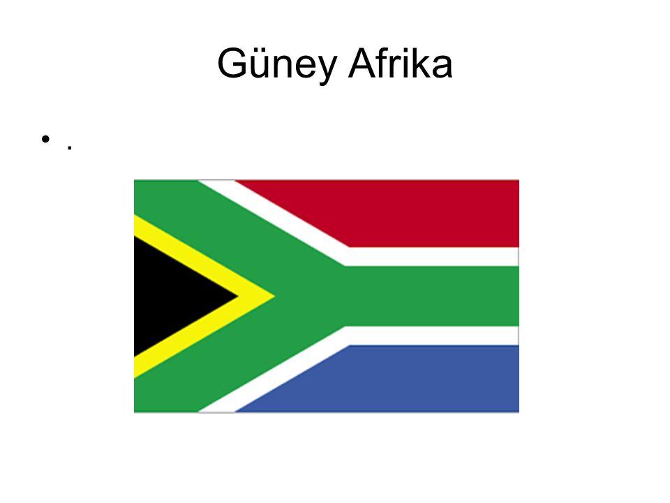 Güney Afrika .