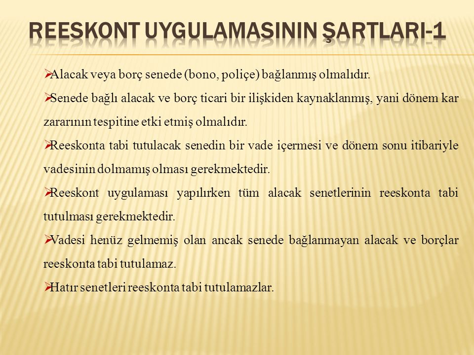 REESKONT UYGULAMASININ ŞARTLARI-1
