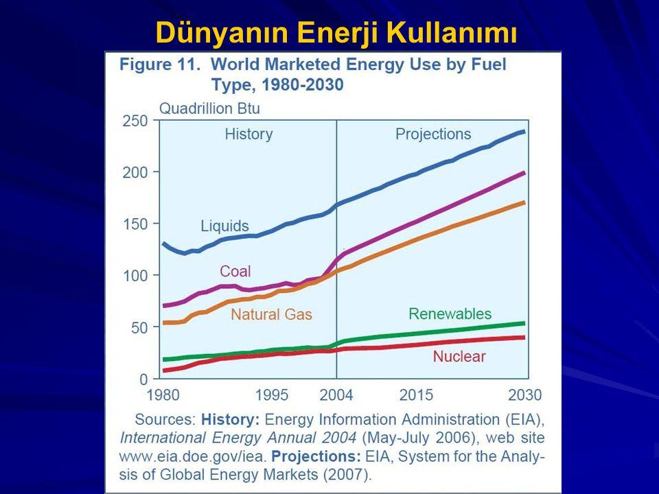 Dünyanın Enerji Kullanımı
