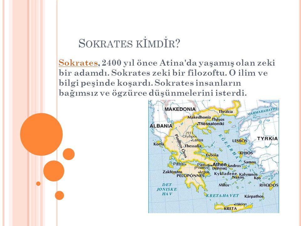Sokrates kİmdİr
