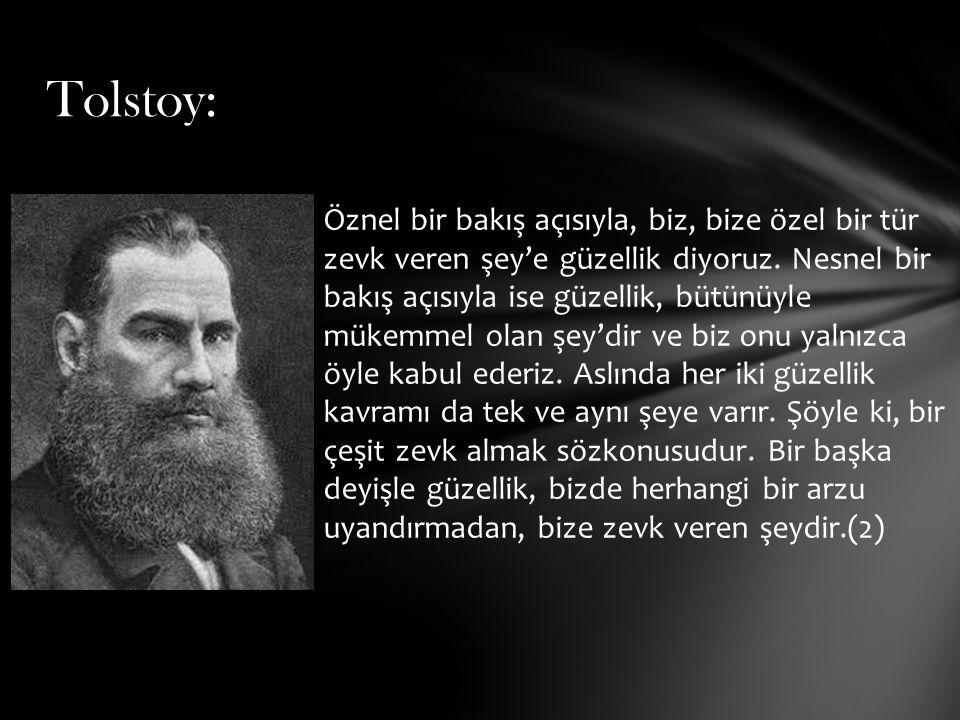 Tolstoy: