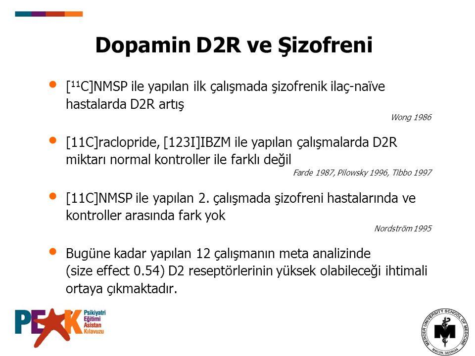Dopamin D2R ve Şizofreni