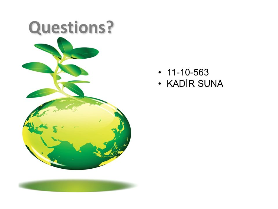 Questions 11-10-563 KADİR SUNA