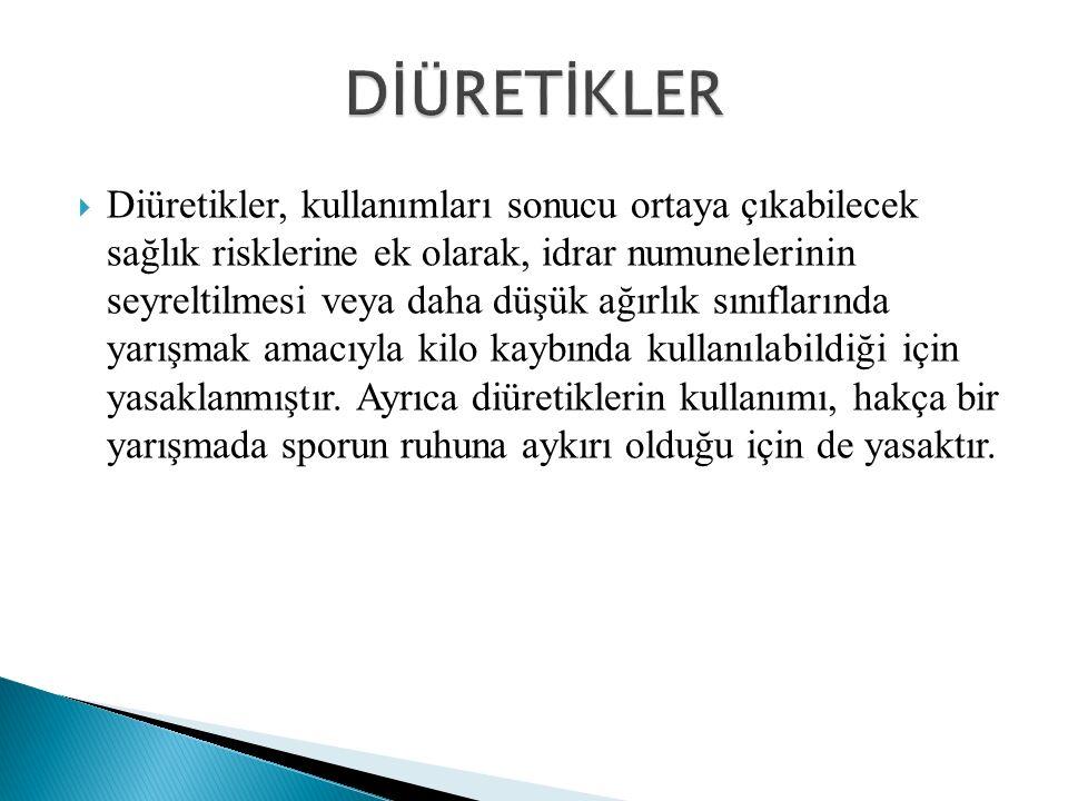 DİÜRETİKLER