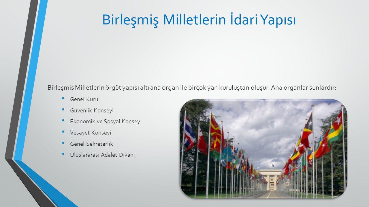 Birleşmiş Milletlerin İdari Yapısı