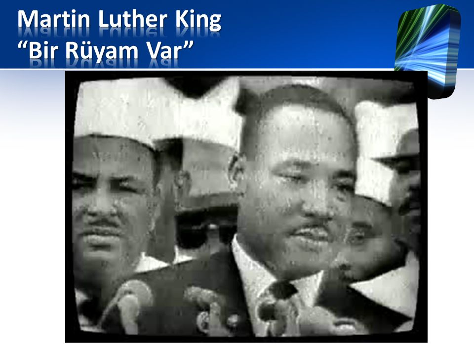Martin Luther King Bir Rüyam Var