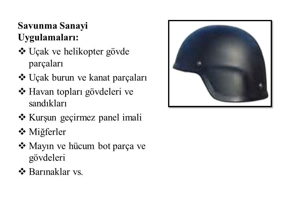 Savunma Sanayi Uygulamaları: