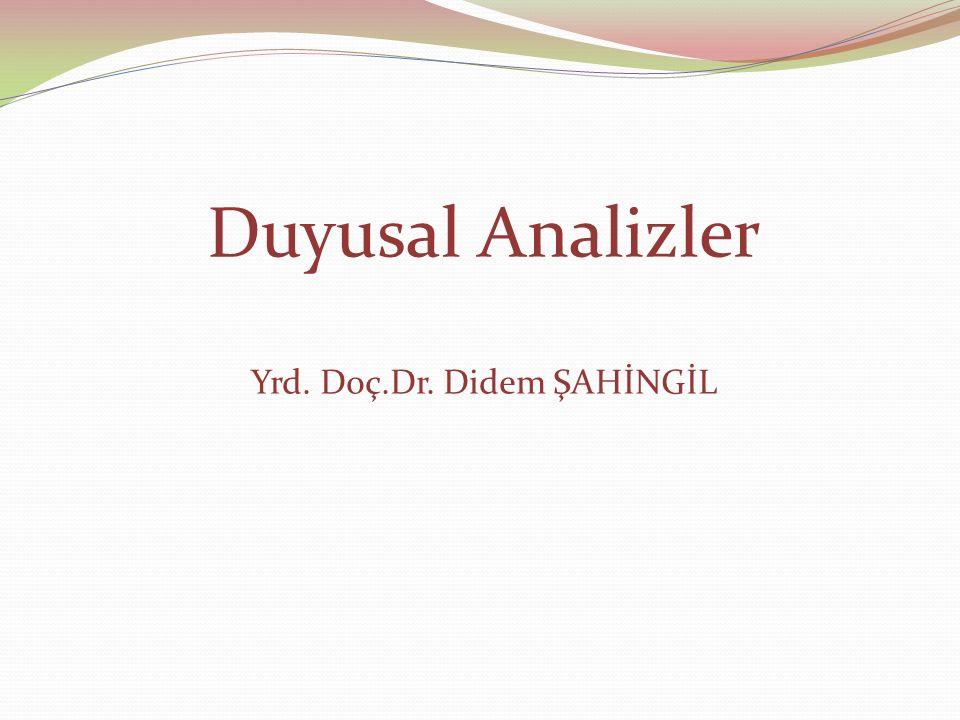 Yrd. Doç.Dr. Didem ŞAHİNGİL