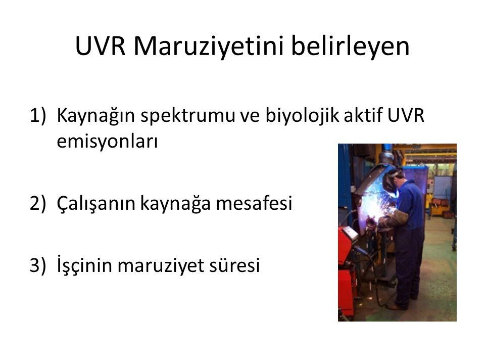 UVR Maruziyetini belirleyen