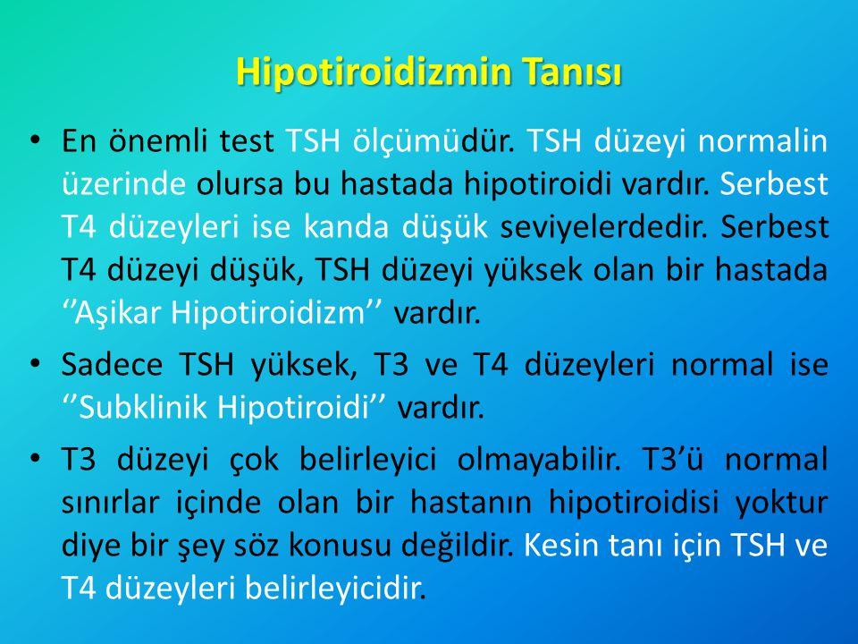 Hipotiroidizmin Tanısı