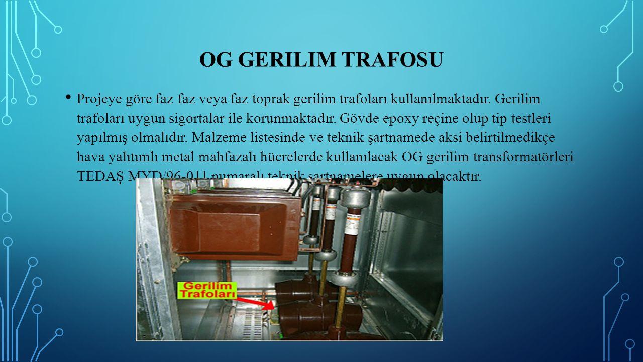 OG Gerilim Trafosu