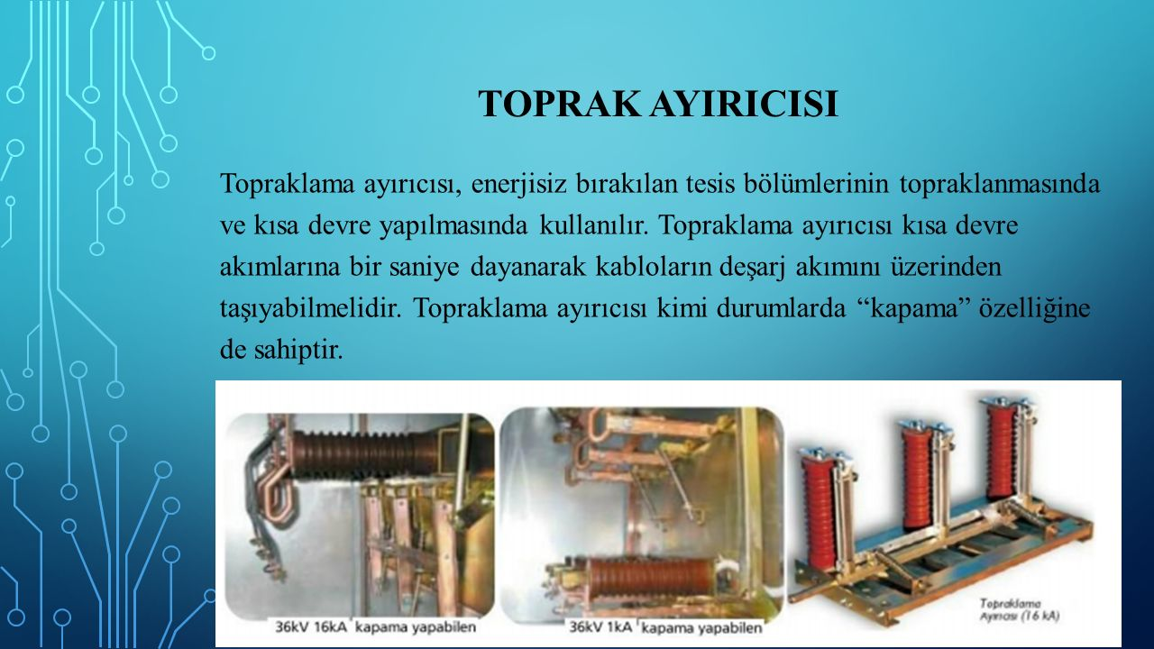 TOPRAK AYIRICISI