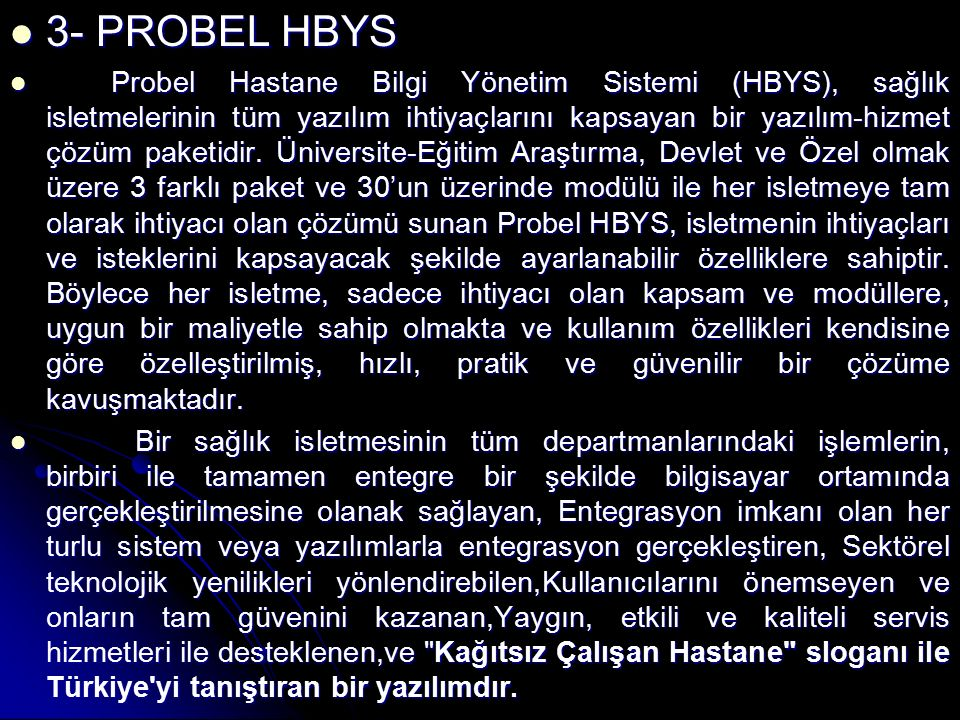3- PROBEL HBYS