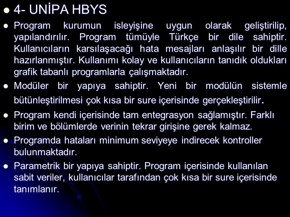 4- UNİPA HBYS