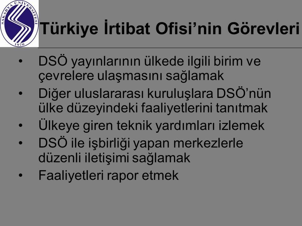Türkiye İrtibat Ofisi'nin Görevleri