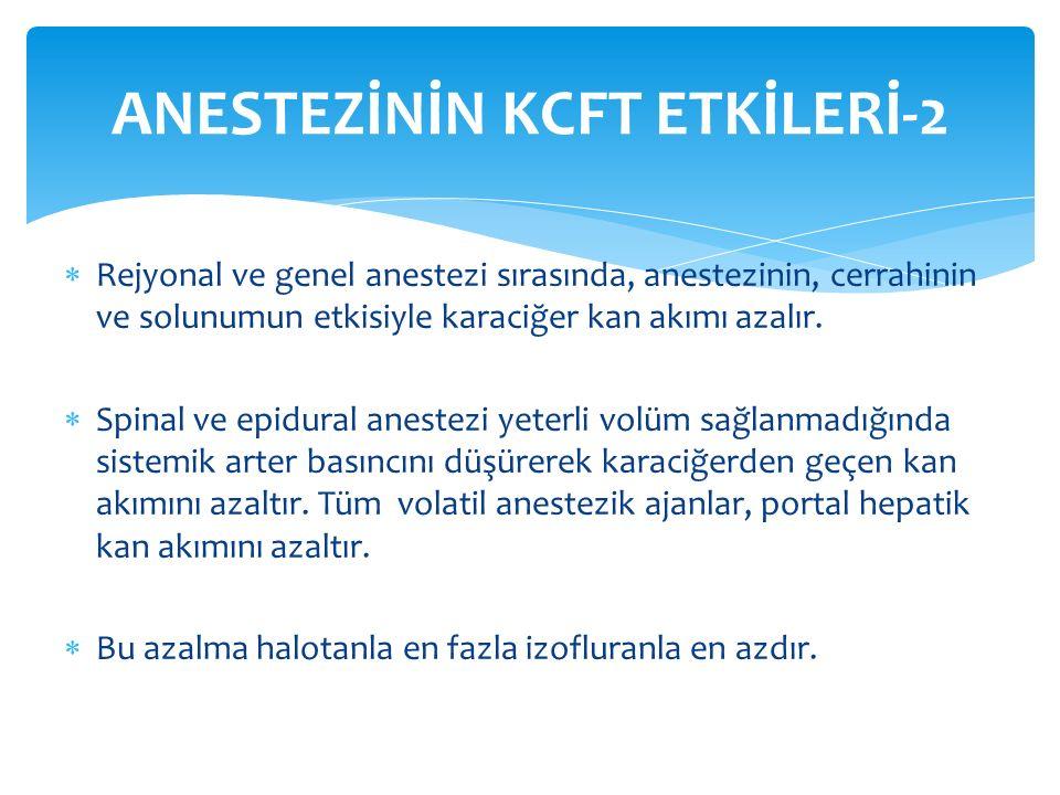 ANESTEZİNİN KCFT ETKİLERİ-2