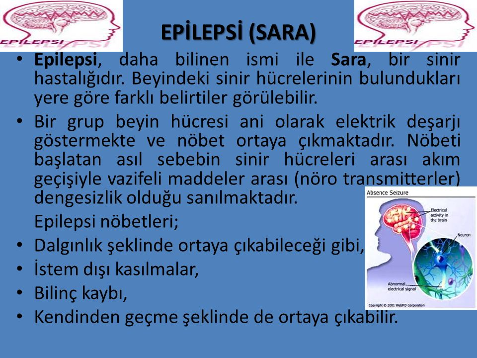 EPİLEPSİ (SARA)