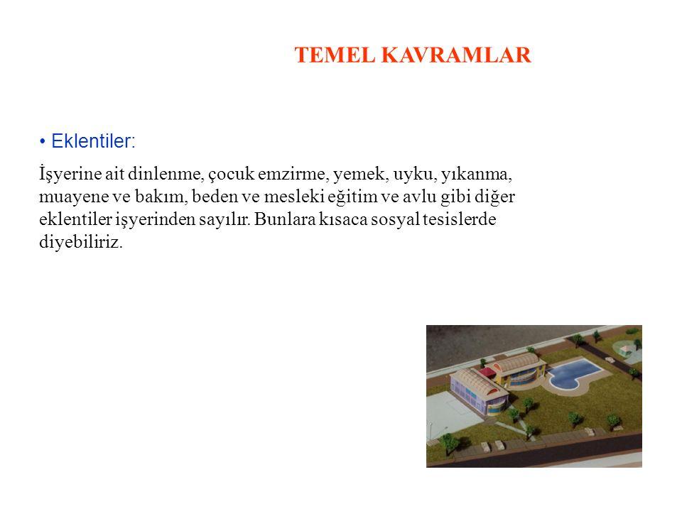 TEMEL KAVRAMLAR • Eklentiler: