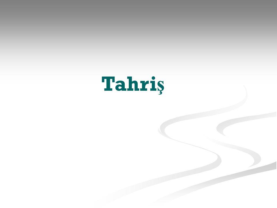 Tahriş