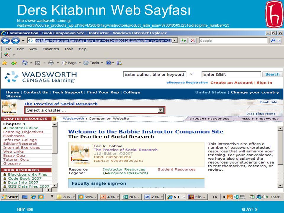 Ders Kitabının Web Sayfası http://www. wadsworth