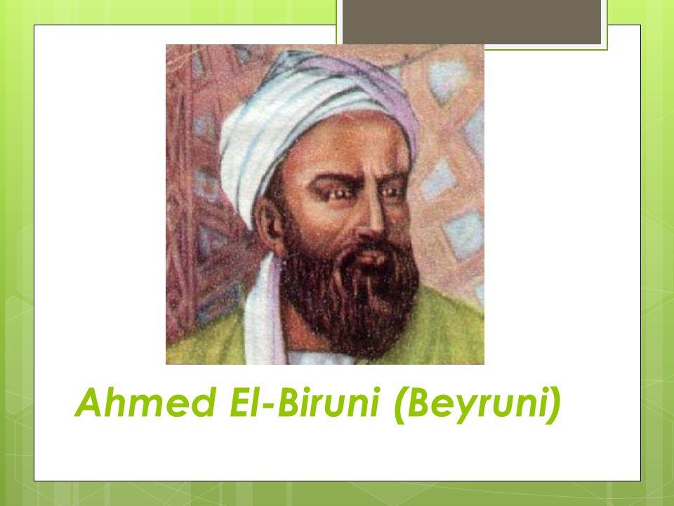 Ahmed El-Biruni (Beyruni)