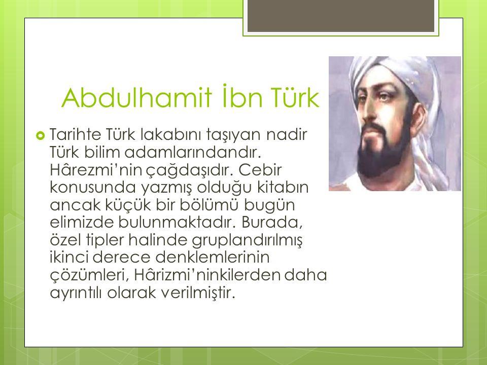 Abdulhamit İbn Türk