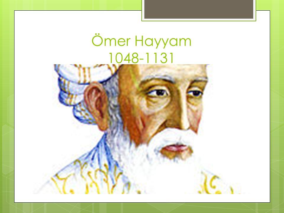 Ömer Hayyam 1048-1131