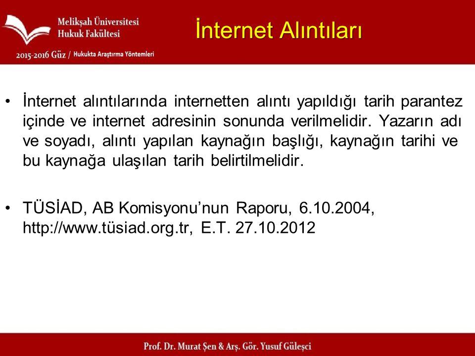 İnternet Alıntıları