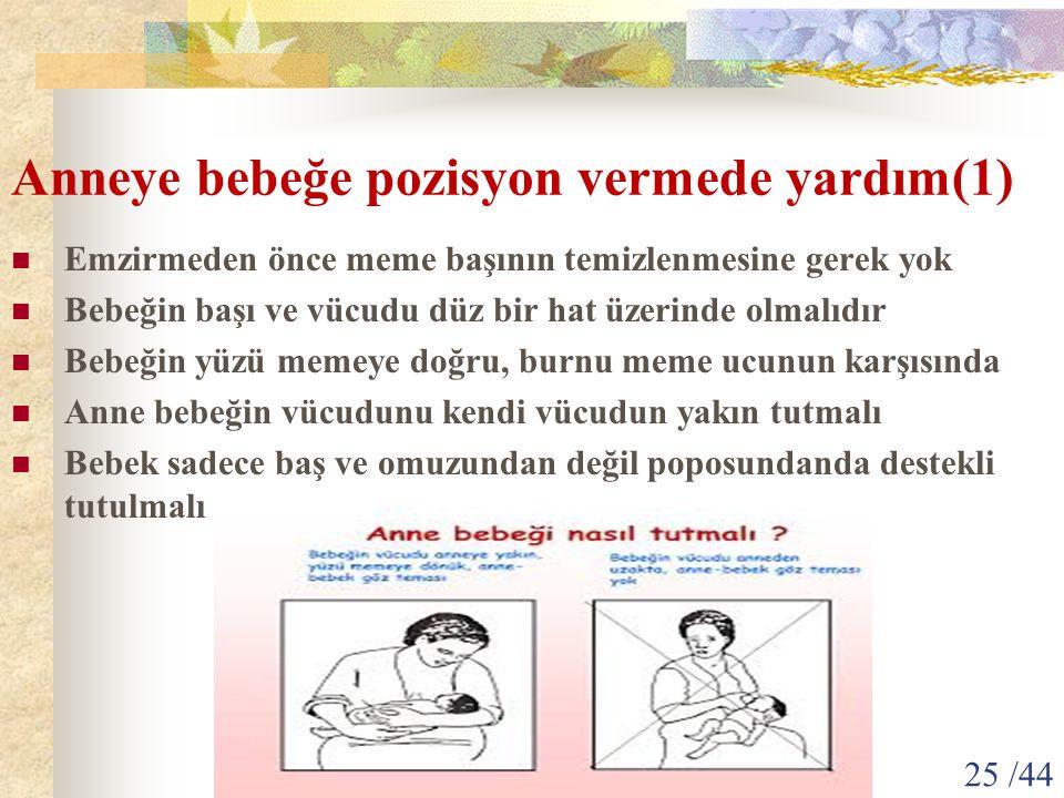 Anneye bebeğe pozisyon vermede yardım(1)
