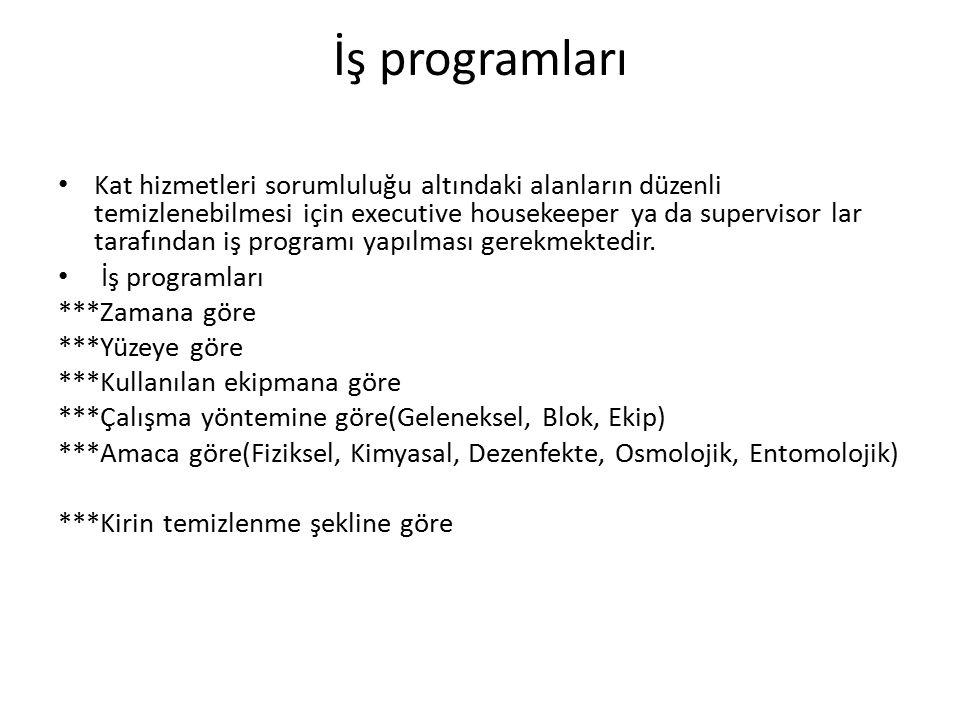 İş programları
